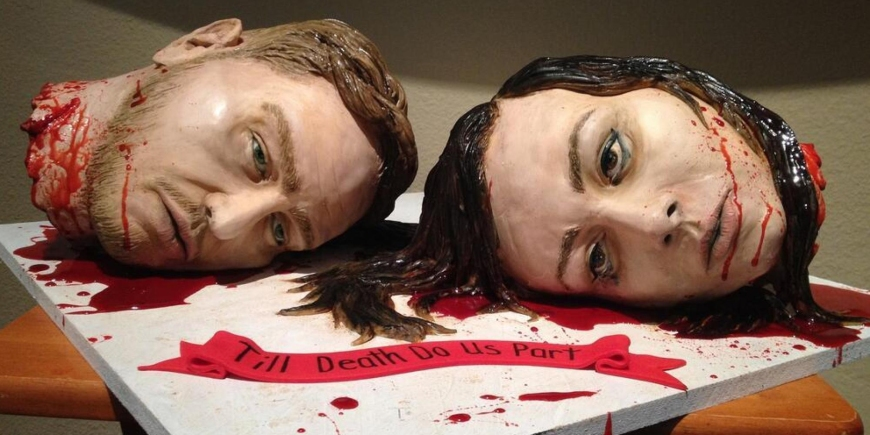 Halloween Wedding Ideas Halloween Wedding Cake