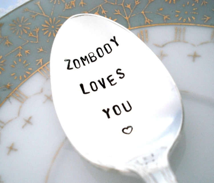 Halloween Wedding Ideas Halloween Zombie Spoon