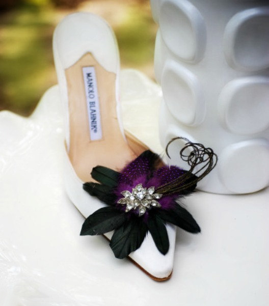 Halloween Wedding Ideas High Heels White Shoes