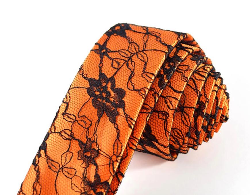 Halloween Wedding Ideas Orange Black Tie