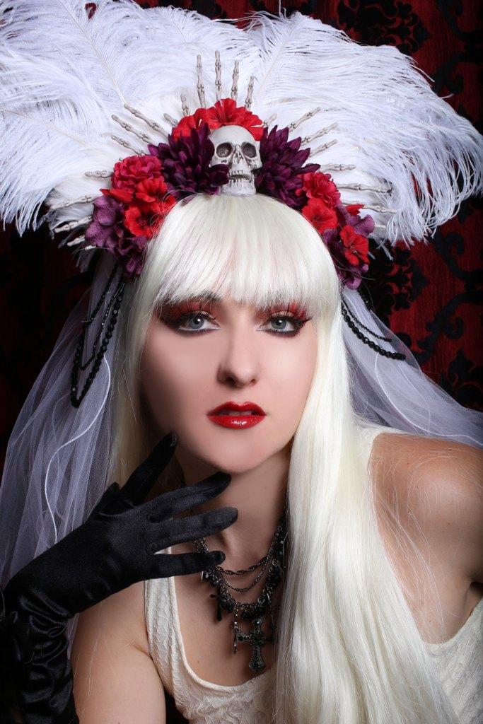 Halloween Wedding Wig Ideas