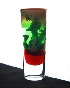 Zombie Brain Hemorrhage Halloween Wedding Cocktail Ideas