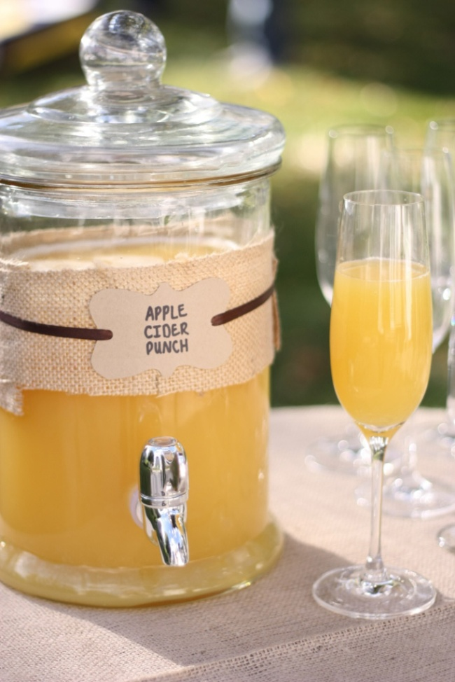 Apple Cider Fall Wedding Ideas