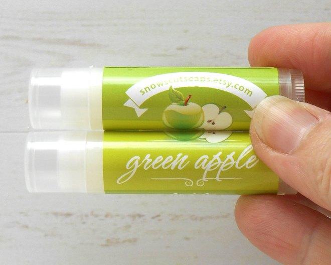 Apple Lip Balm Fall Apple-Themed Wedding Favor Ideas