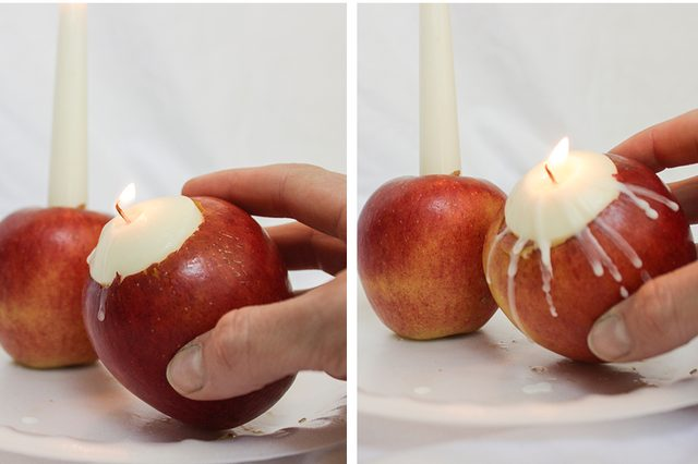 Apples Candles Autumn Wedding Ideas