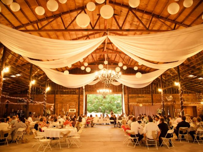 Barn Wedding Decoration Fall Wedding Idea