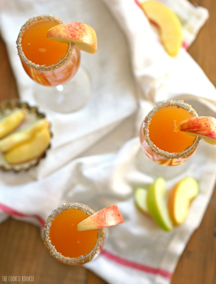 Cider Mimosa Fall Wedding Cocktail