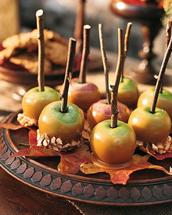 Classic Caramel Apple Fall Wedding Edible Favors