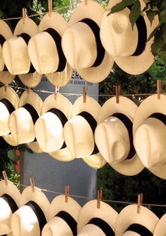 Fall Wedding Idea - Hats Wedding Favor