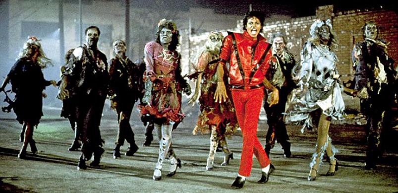 Michael Jackson Thriller Zombie Dance