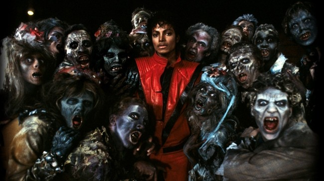 Michael Jackson Thriller Zombies Halloween