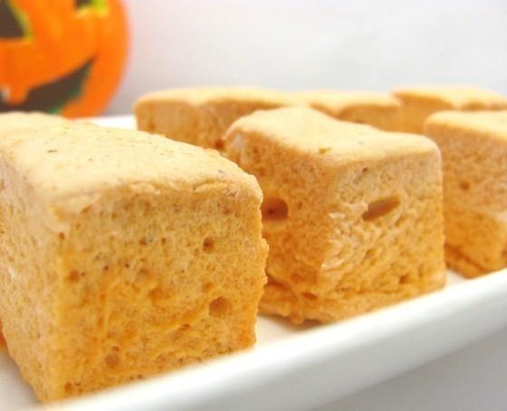 Pumpkin Spice Marshmallow Fall Pumpkin Themed Wedding Food Ideas