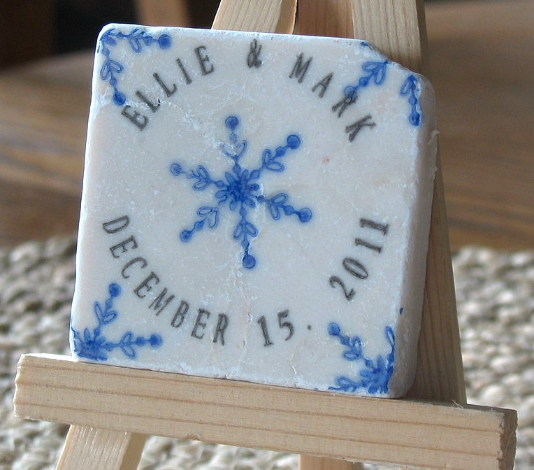 Winter Wedding Favors That Wedding Shop – Winter Wedding Save the Date