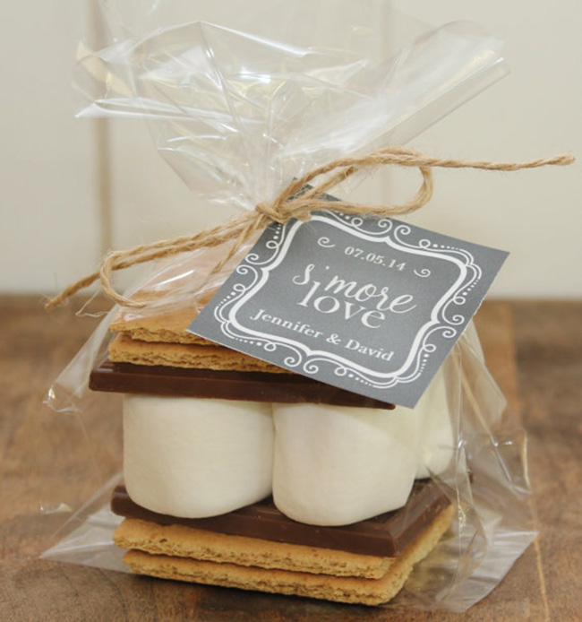 Smores Winter Wedding Favors