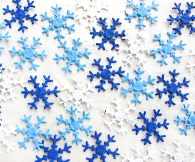 Snow Flake Plantable Seeds Winter Wedding Favors